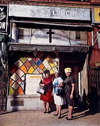 harlem church, new york by evelyn hofer