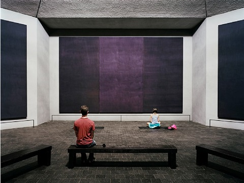 the rothko chapel, houston by thomas struth