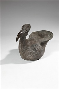 sitting bird, glyfada by do konig-vassilakis