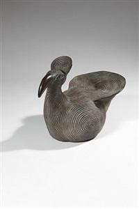sitting bird, glyfada by do konig-vassilakis