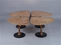 tavolo 4 foglie by do konig-vassilakis