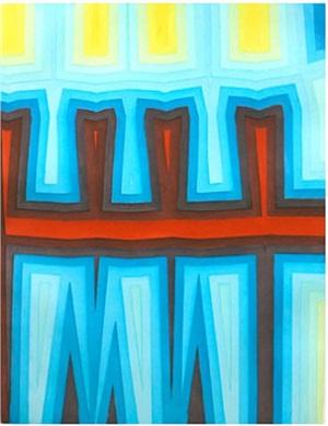 fold/slice topo 1 by tauba auerbach