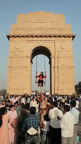 girl on a swing by vishal k dar, kaushik bhaumik and siddhartha chatterjee