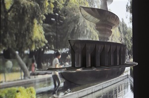 fountain of transformations (detail) by vishal k dar, kaushik bhaumik and siddhartha chatterjee