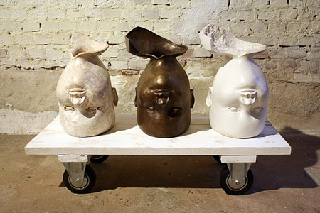 3 engelsköpfe by josef hirthammer
