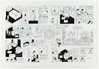 oak park magazine - affection/ex-boyfriend i by chris ware