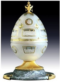 the tercentenary egg by théo fabergé