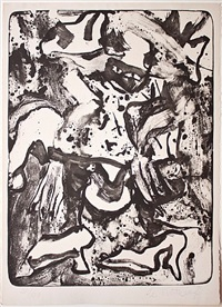 minnie mouse by willem de kooning