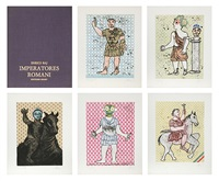 imperatores romani portfolio by enrico baj