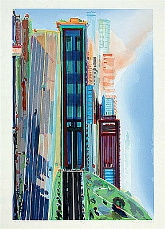 hill street by wayne thiebaud