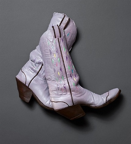 those lavender boots by carole a. feuerman
