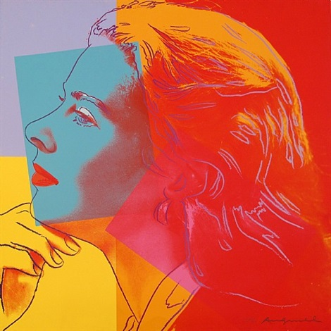 ingrid bergman - herself (fs ii.313), by andy warhol