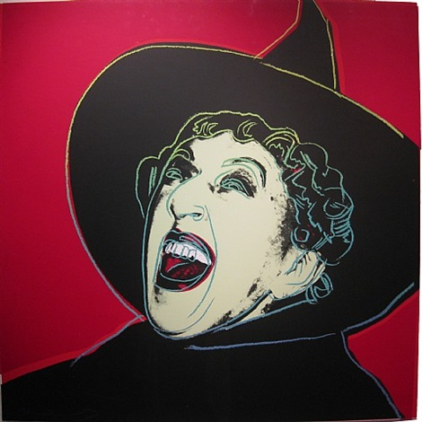 myths: the witch by andy warhol