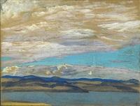 clouds by nikolai konstantinovich roerich