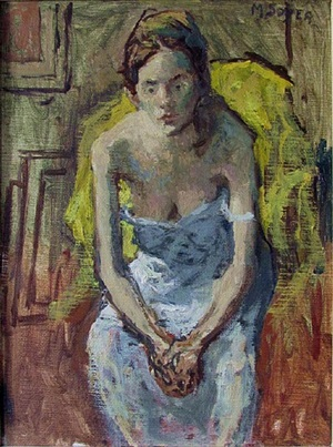 white chemise by moses soyer