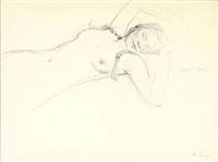 overflow study (helga) by andrew wyeth