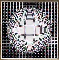 bianco by victor vasarely