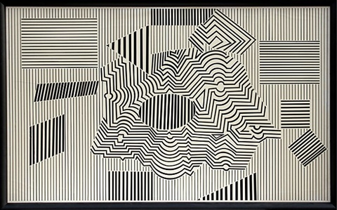 operenccia by victor vasarely