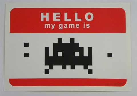 hello my game is . . . (red) by invader