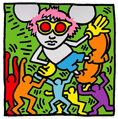 andy mouse 2 by keith haring