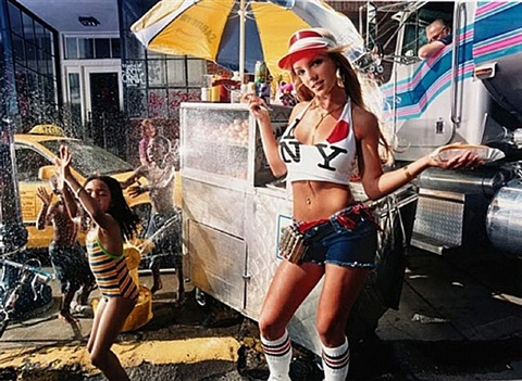 britney spears: street scene in new york by david lachapelle