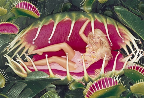 shakira venus fly trap by david lachapelle