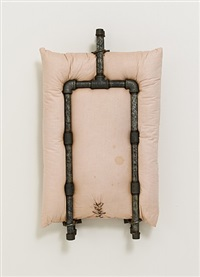 untitled pillow by stephen antonakos