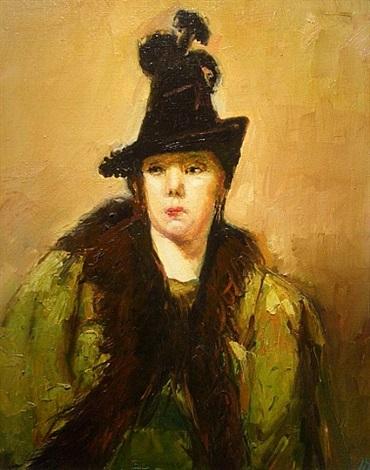 portrait of a lady by david bierk
