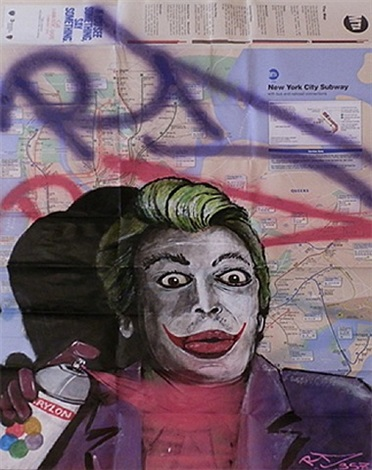 "cesar romero ""the joker"" by rd 357"