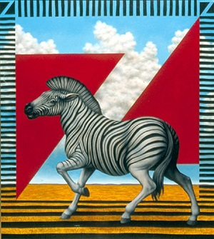z is for zebra by martin maddox