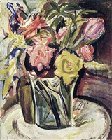 tulips by theresa ferber bernstein