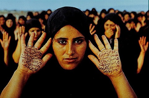 untitled (from rapture) by shirin neshat