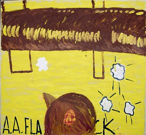 ack - ack by rose wylie