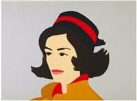 ada in hat by alex katz