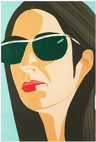 ada with sunglasses by alex katz
