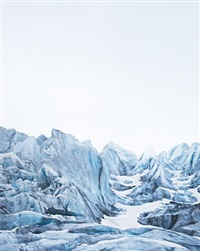 nigardsbreen, plate i, norway by caleb cain marcus
