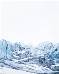 nigardsbreen, plate ii, norway by caleb cain marcus