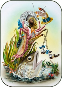 the grasshopper (for the butterfly ball and the grasshopper's feast) by alan aldridge