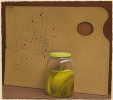 untitled (pickles) by maxwell hendler