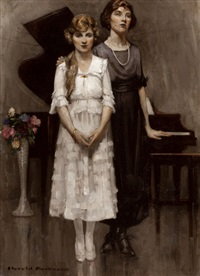 mother and daughter by harold n. anderson