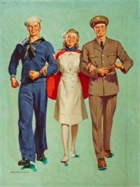 the nurse's escorts by harold n. anderson