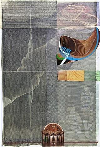 arcanum suite: arcanum x by robert rauschenberg