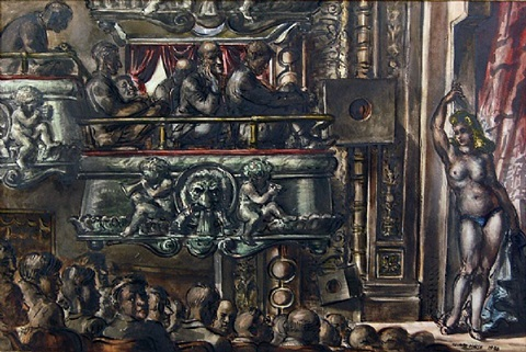 eltinge follies by reginald marsh