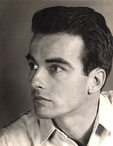 montgomery clift by alfredo valente