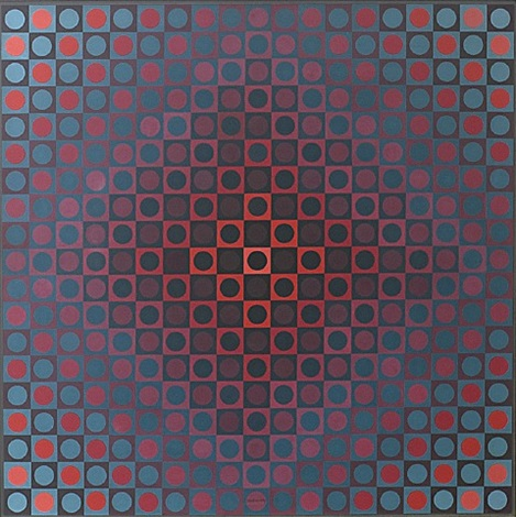 boglar by victor vasarely