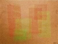 vibración del rojo y del verde by carlos cruz-diez