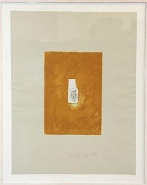 honiggefäß (aus der suite zirkulationszeit) by joseph beuys