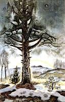 late winter dawn by charles ephraim burchfield