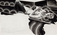 the golden helix, thrilling wonder stories interior illustration, summer by virgil finlay