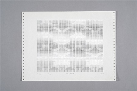 frederick hammersley the computer drawings 1969 by frederick hammersley